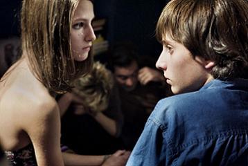 Mattia e Alice adolescenti