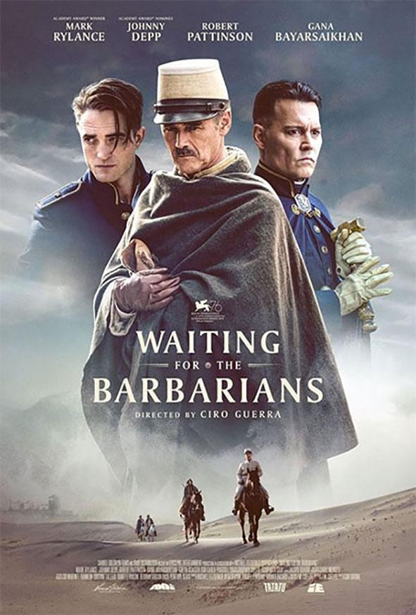 il poster di Waiting for the barbarians, aspettando i barbari