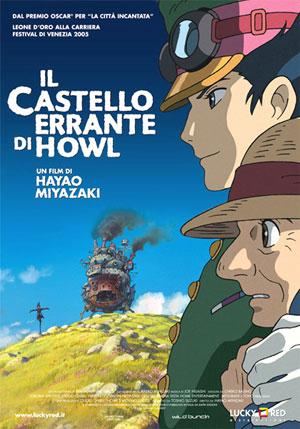 """locandina del film """"Il castello errante di howl"""