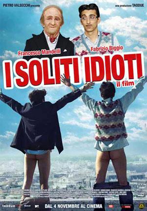 """locandina del film """"i soliti idioti"""""""