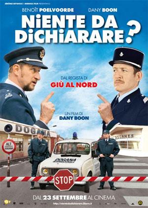 """locandina del film """"niente da dichiarare"""""""