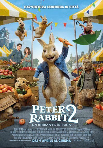 poster del film Peter Rabbit 2