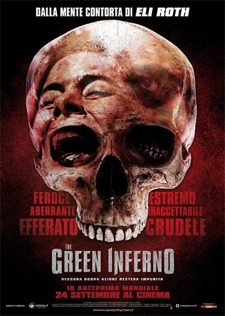 the green inferno locandina