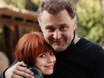 Il regista Lucio Pellegrini con Claudia Pandolfi