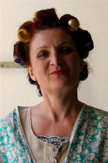 l'attrice Manuela Massarenti
