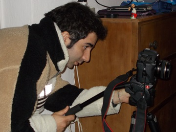 Il regista Marco Di Gerlando