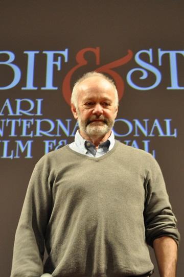 Michael Radford durante la lezione di cinema al BIF&ST
