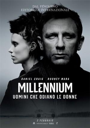 millennium la locandina