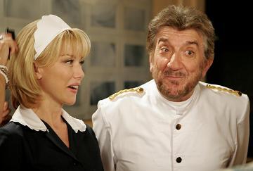 Nancy Brilli e Gigi Proietti in una scena