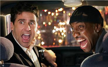 Steve Carrell e il tassista J. B. Smoove