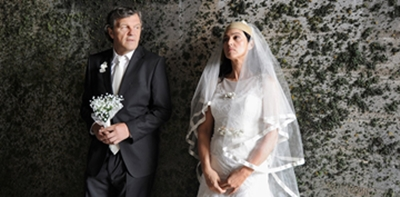 Emir Kusturica e Monica Bellucci in una scena del film On the milky road