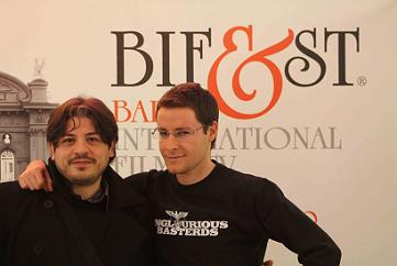Vito Palumbo e Roberto De Feo al BIF&ST