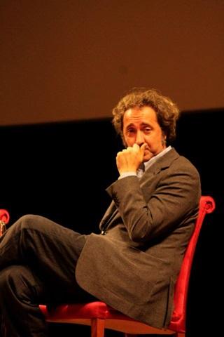Il regista Paolo Sorrentino. Foto di Francesco Guida
