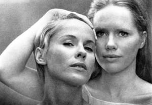 le due protagoniste del film Liv Ulmann e Bibi Anderson