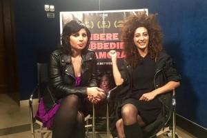 Mayasaloun Hamoud e Mouna Hawa presso la Casa del Cinema Roma per Libere disobbedienti innamorate