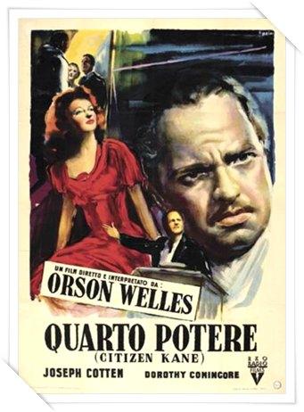 locandina ufficiale italiana del film Quarto Potere
