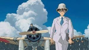 Jiro Horikoshi in una scena del film