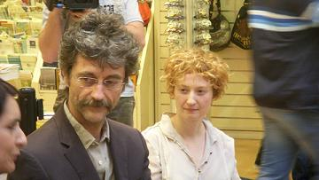 Il regista Silvio Soldini e l'attrice Alba Rohrwacher