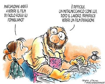La vignetta di Staino
