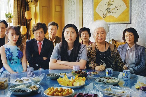 Scena del film The Farewell