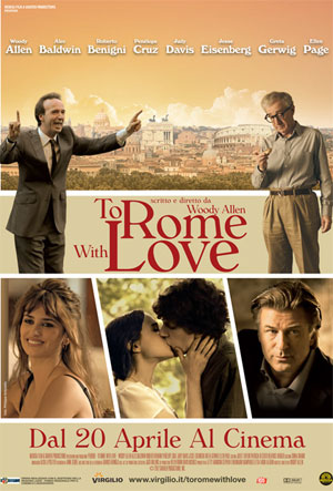 locandina del film To Rome with Love