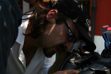 Il regista Andrea Lodovichetti
