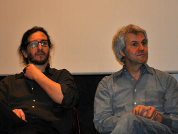 Daniele Vicari e Domenico Procacci