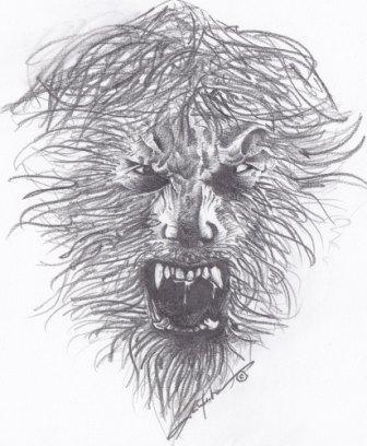 """""""A Wolfman"""" - disegno di Alice Muratore"""