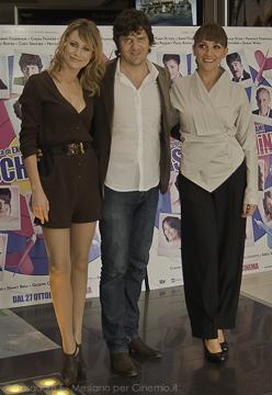 Giorgia Wurth, Fabio De Luigi e Lucia Ocone