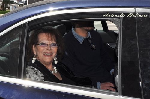 L'attrice Claudia Cardinale