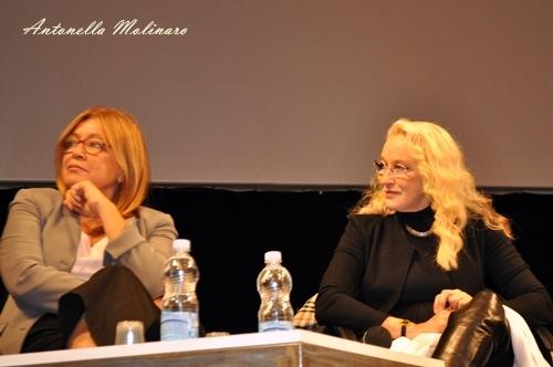 La regista Mimma Nocelli e l'attrice Eleonora Giorgi