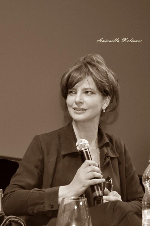 L'attrice e regista Laura Morante