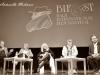 La regista Mimma Nocelli e gli attori Maurizio Donadoni ed Eleonora Giorgi