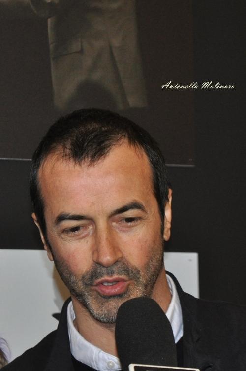 L'attore Andrea Occhipinti