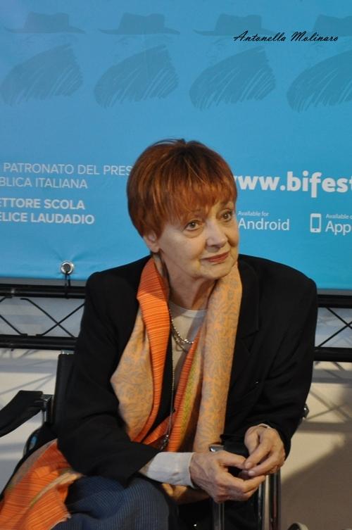 L'attrice Milena Vukotic