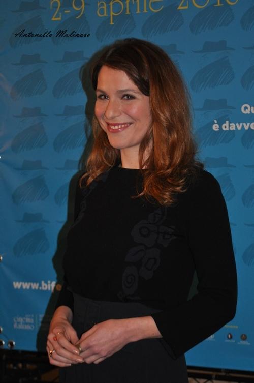 L'attrice Isabella Ragonese