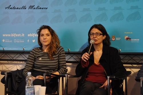 In un posto bellissimo: l'attrice Isabella Ragonese e la regista Giorgia Cecere