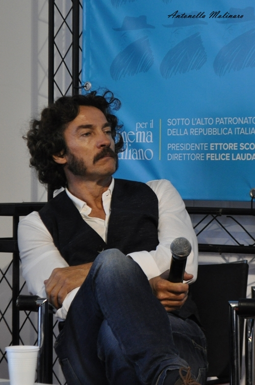L'attore Alessio Boni