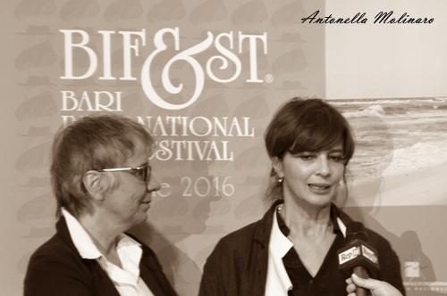 Emanuela Piovano e Laura Morante