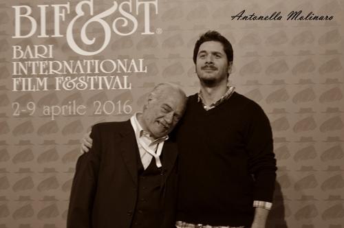 Giorgio Colangeli e Gabriele Mainetti