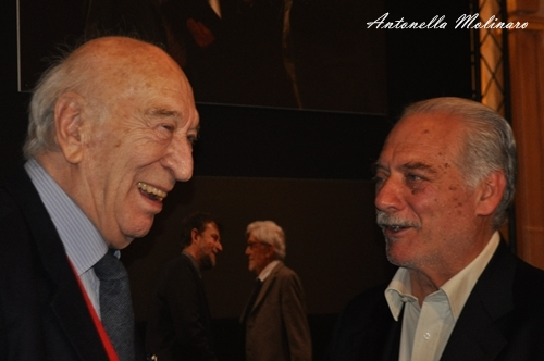 Giuliano Montaldo e Giorgio Colangeli