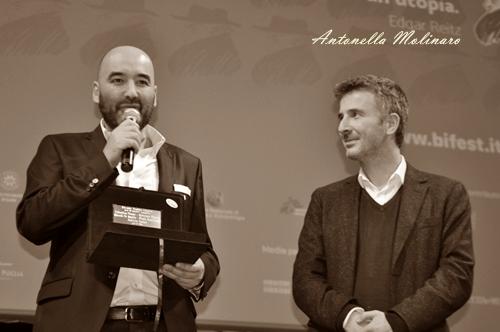 Nicola Guaglianone e Valentino Picone vincitori al BIF&ST 2017