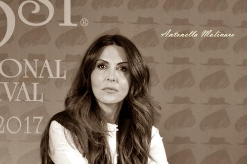L'attrice Sabrina Ferilli