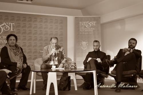 Enzo Avitabile, Massimo Cantini Parrini ed Edoardo De Angelis