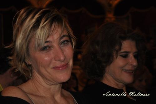 L'attrice Valeria Bruni Tedeschi