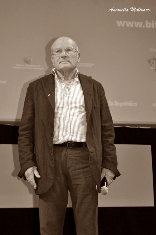 Il regista Volker Schlöndorff premiato al BIF&ST 2017