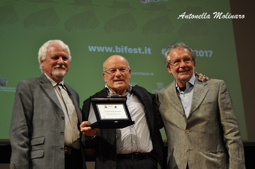 Volker Schlöndorff tra Jean Gili e Felice Laudadio