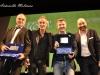 Francesco Acquaroli, Fabrizio Testini, Valentino Picone e Nicola Guaglianone