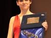 L'attrice Sara Serraiocco premiata al BIF&ST 2017