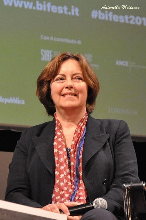 L'attrice Greta Scacchi